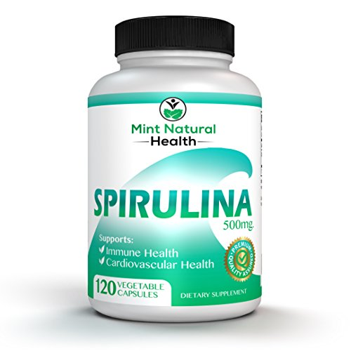 Spirulina Superfood, High in Protein, Iron and B...