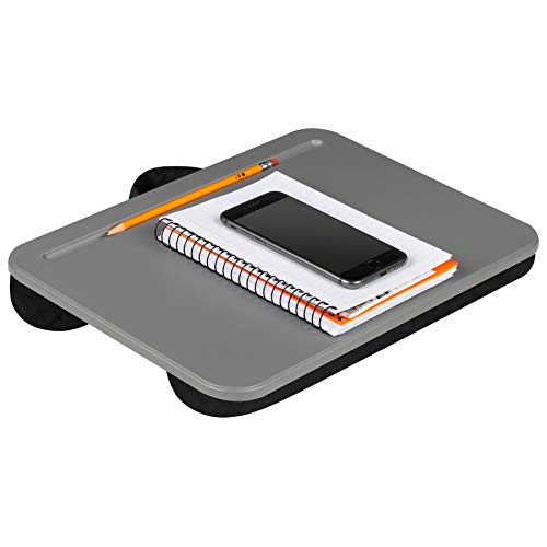 LapGear Compact Lap Desk - Charcoal (Fits up to 13.3' Laptop) - Style #43105