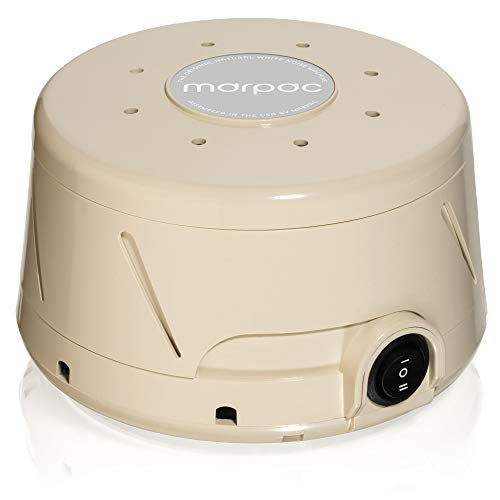 Marpac Dohm Classic (Tan) | White noise machine | 101 Night Trial & 1 Year Warranty  |  Soothing sounds from a real fan helps cancel noise while you sleep | For adults and children