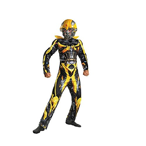 G-Dreamer Halloween Transformer Costume for Kids Bumblebee No Mask 3 to 10yrs old
