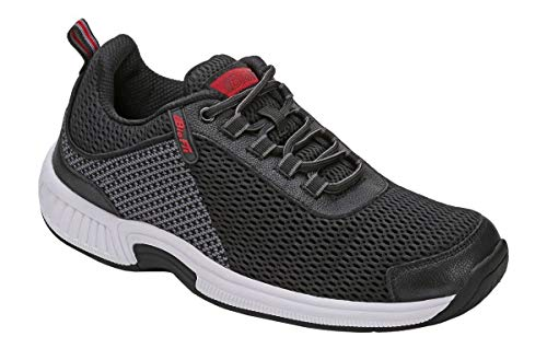 Orthofeet Edgewater Most Comfortable Orthopedic Plantar Fasciitis Diabetic Athletic Men's Shoes