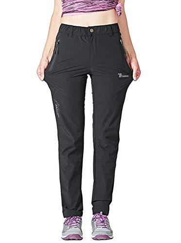 Rdruko Women's Outdoor Lightweight Quick Dry Sportswear Water Resistant Hiking Pants with Pockets