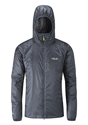 RAB Xenon-X Jacket - Men's Ebony/Zinc Large