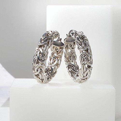 hoop earrings in clear background