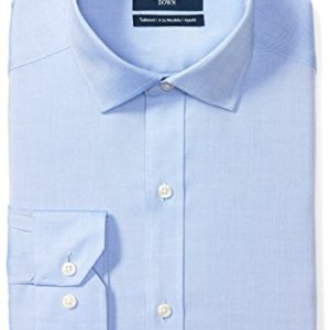 Amazon Brand - BUTTONED DOWN Men's Tailored Fit Spread-Collar Solid Pinpoint Non-Iron Dress Shirt 20 Fashion Online Shop gifts for her gifts for him womens full figure
