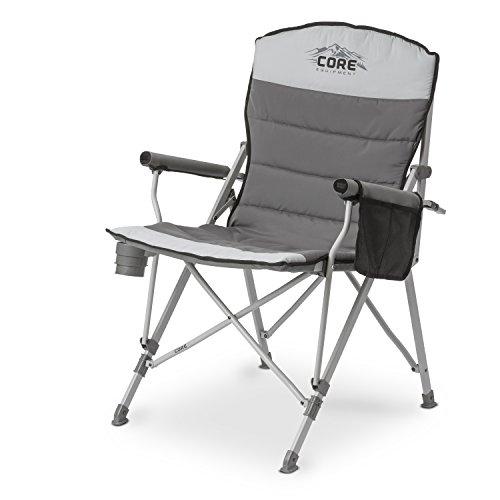 CORE 40021 Equipment Folding Padded Hard Arm Chair...