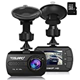Dash Cam - TOGUARD Mini Dash Camera for Cars HD 1080P Wide Angle 1.5' LCD with G-Sensor Loop Recording Motion Detection (32GB Card Included)