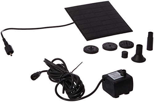 Patuoxun Power Panel Kit Solar Water Pump Fountain Pool Garden Watering