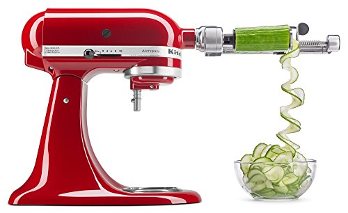 KitchenAid KSM1APC Spiralizer Attachment, 1',...