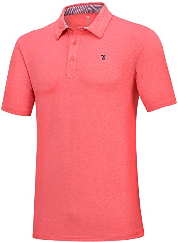 JINSHI Men's Athletic Loose Performance Fit Short Sleeve Classic Golf Polo Shirt 2 Fashion Online Shop gifts for her gifts for him womens full figure