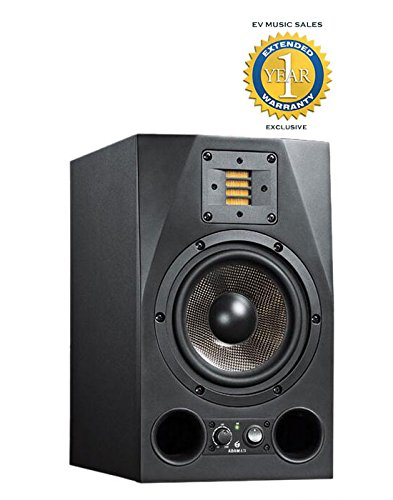 Adam Audio A7X 7' 150W Active 2-Way Studio Monitor with 1 Year Free Extended Warranty