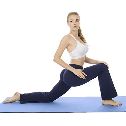Navy yoga pants bootcut