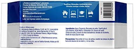 41bQ8BhYGcL. AC  - Escudo Antibacterial Toallitas Húmedas, 1 Paquete con 50 Toallitas, Protección y Limpieza para tu Piel #Amazon