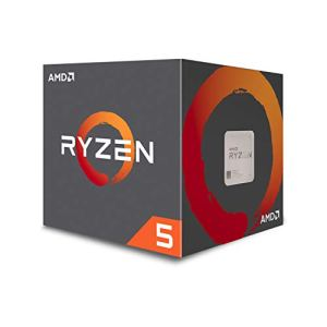 AMD Ryzen 5 1600 65W AM4 Processor with Wraith Stealth Cooler (YD1600BBAFBOX)