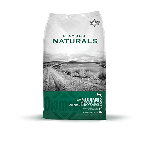 Diamond Naturals Adult Large Breed Real Meat Recipe Premium Dry Dog Food With...