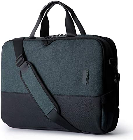 Laptop Bag,BAGSMART 15.6 Inch Laptop Shoulder Bag Briefcase Office Bag for Men Women