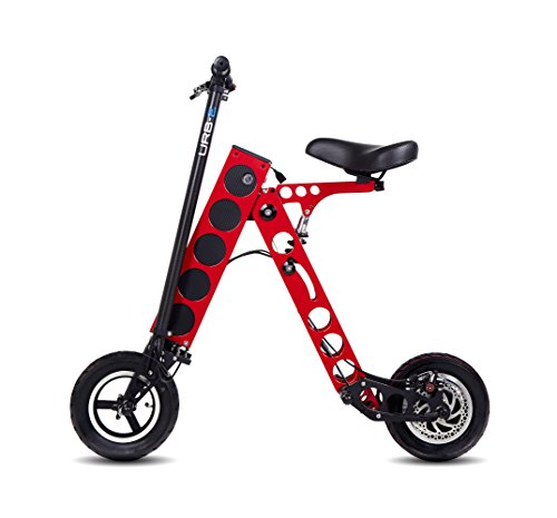 Made In USA Electric Folding Scooter - URB-E Black Label Edition