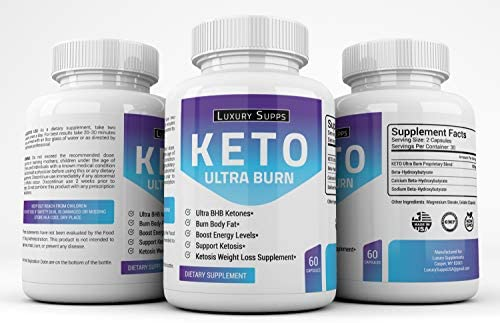 Keto BHB Ultra Burn - Advanced Weight Loss for Ketogenic Diet - Weight Loss Pills - 30 Day Supply - 60 Capsules 3