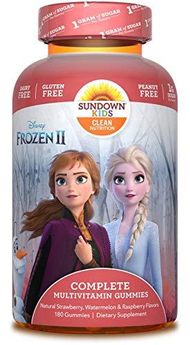 Sundown Kids Disney Frozen 2 Complete Multivitamin, 180 Count