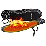 Warmfits Battery Powered Rechargeable Heated Insoles Foot Warmers for Men and Women. Have Warm feet on Winter Adventures Like Hunting, Working, Skiing