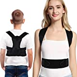 Doact Kids Posture Corrector for Women Men, Posture Brace for Bad Back and Shoulder Posture, Clavicle Support, Corrects Slouching, Hunching