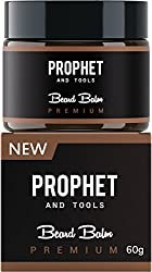 PREMIUM Beard Balm Butter and Wax Formula For Men Grooming! Adds Mild Styling & Hold, Softens Beards & Mustache, Gives Shine and Promotes Fuller Thicker Beard Oil Hair Growth! Prophet and Tools  Image