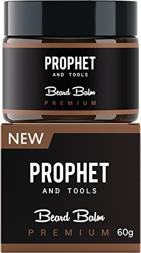 PREMIUM Beard Balm Butter and Wax Formula For Men Grooming! Adds Mild Styling & Hold, Softens Beards & Mustache, Gives Shine and Promotes Fuller Thicker Beard Oil Hair Growth! Prophet and Tools