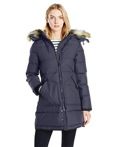 81YK H6NeIL White duck down, 4 layer construction, water resistant Durable oxford shell Remove fur, machine wash cold, leave out to dry