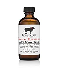 Bull and Bell Aftershave Tonic - Handmade in USA Using All Natural Ingredients Including Witch Hazel - 4oz - Best Aftershave for Sensitive Skin (Bay Rum)  Image 2