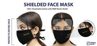Travel-Blue-Black-Cotton-Shield-Face-Mask