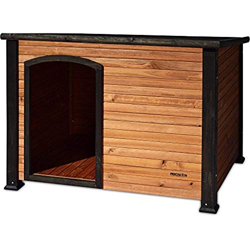 Precision Pet by Petmate Extreme Weather-Resistant Log Cabin Dog House with...