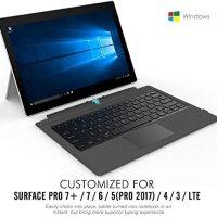 MoKo Microsoft Surface Pro 4 / Pro 3 / Surface Pro 2017 Type Cove 16