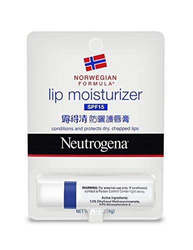 41bqxDPrw L - Neutrogena Norwegian Formula Lip Moisturizer, SPF 15, 4g