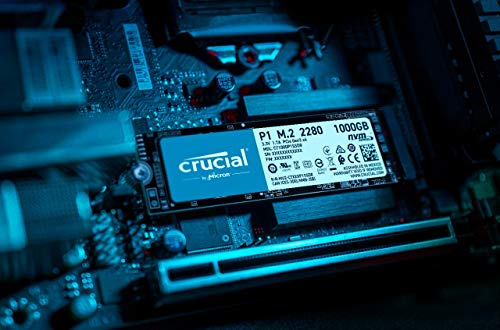 Crucial P1 1TB 3D NAND NVMe PCIe M.2 SSD - CT1000P1SSD8 5