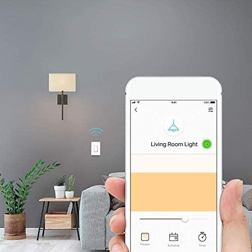 Kasa Smart Dimmer Switch HS220, Single Pole, Needs Neutral Wire, 2.4GHz Wi-Fi Light Switch Works with Alexa and Google Home, UL Certified,, No Hub Required 16
