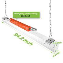 8FT-LED-Shop-Light-110W-14300LM-Linkable-LED-Garage-Light-6-lamp-F32T8-Fluorescent-Equiv-5000K-Daylight-0-10V-Dimmable-Commercial-8-Foot-LED-Strip-Light-Fixture-2-Pack