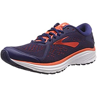 Brooks Women's Running Shoes, Blue Blue Coral White 438 Road Running Shoes For Women
