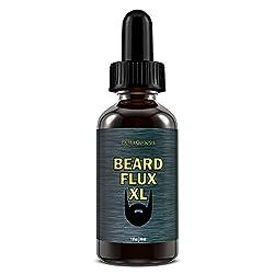 Beard Flux XL | Caffeine Beard Growth Stimulating Oil for Facial Hair Grow | Fuel Healthy Growth | Fragrance Free Beard Oil  Image