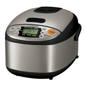 Zojirushi NS-LAC05XT Micom 3-Cup Rice Cooker and Warmer