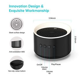 Axloie-Enceinte-Bluetooth-Puissante-Haut-Parleur-Bluetooth-50-sans-Fil-2021-New-Mini-Enceinte-Bluetooth-Portable-Stereo-HiFi-Micro-Integre-Port-Carte-TFAUX-Mains-Libres-Audio-Haute-fidelite-Noir