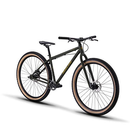 Redline Bikes Monocog 29 Single Speed Mountain Bike 19' Frame, Green, 19'/Large