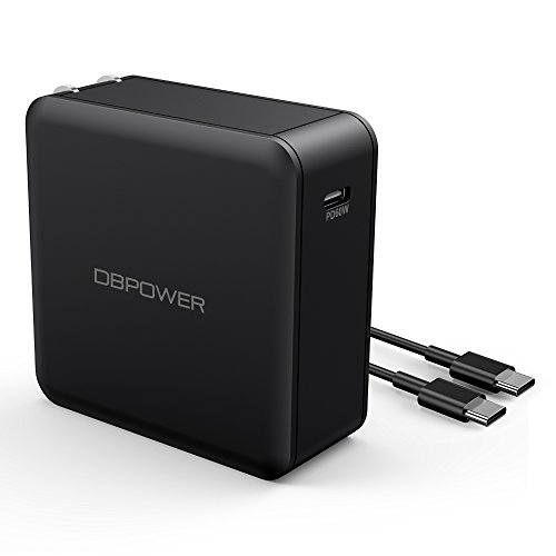 DBPOWER USB Type-C with Power Delivery 60W PD wall charger, PowerPort for Nexus, Macbook Pro, Nintendo Switch, iPhone X/8/8Plus, Google Pixel, Moto Z Samsung Mate Book and More