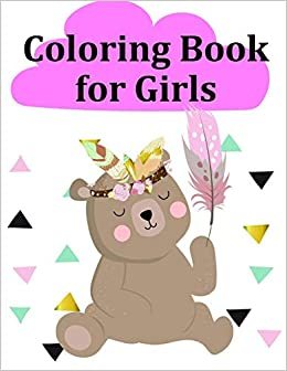 Coloring Book For Girls Super Cute Kawaii Coloring Pages For Teens Entertain Kids Mimo J K 9781709132445 Amazon Com Books