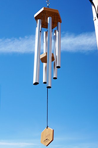 WIND-CHIMES-FOR-PEOPLE-WHO-LIKE-THEIR-NEIGHBORS-Soothing-Melodic-Tones-Solidly-Constructed-BambooAluminum-Chime-Great-as-a-Gift-or-Just-Keep-it-for-Your-own-Patio-Porch-Garden-or-Backyard
