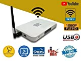 STC Free to air Set top Box USB Port Satellite Receiver USB WiFi Dongle (No Paid Channel Received)