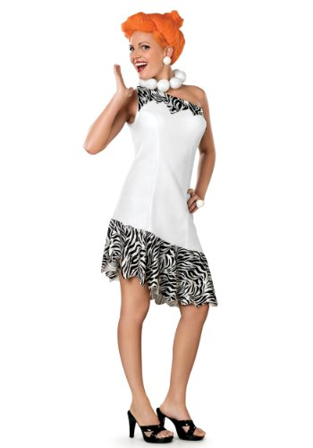 The Flintstones Wilma Costume,White, Medium
