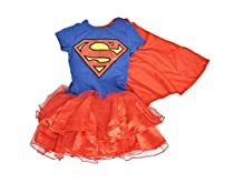 Rush Dance Superhero Cape Princess Party Birthday Little Girls Tutu Dress
