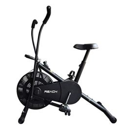 Reach Air Bike Exercise Cycle With Moving Handles & Adjustable Cushioned Seat (No-Cost EMI Available)