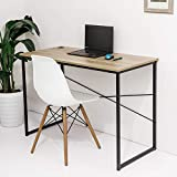 C-Hopetree Computer Desk Student Writing Craft Games Table Portable PC Laptop Note-Book Study Workstation Home Office Dorm