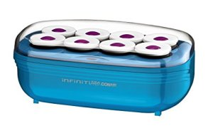 Infiniti Pro by Conair Instant Heat Toumaline Ceramic Flocked Hot Rollers; 2-inch for Mega Volume and Smooth Waves
